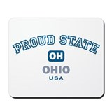 Proud State-Ohio: Mousepad