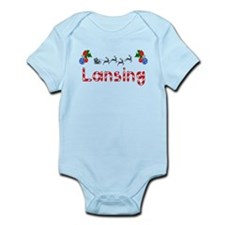 Lansing, Christmas Infant Bodysuit