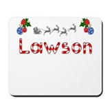 Lawson, Christmas Mousepad