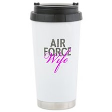 Air Force Wife Ceramic Travel Mug