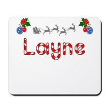 Layne, Christmas Mousepad