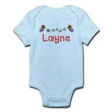 Layne, Christmas Infant Bodysuit