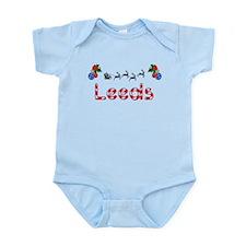 Leeds, Christmas Infant Bodysuit