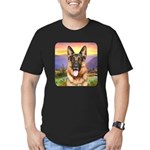 Shepherd Meadow Men's Fitted T-Shirt (dark)