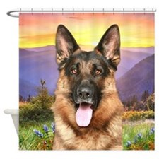 Shepherd Meadow Shower Curtain