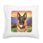 Shepherd Meadow Square Canvas Pillow