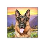 Shepherd Meadow Square Sticker 3