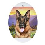 Shepherd Meadow Ornament (Oval)