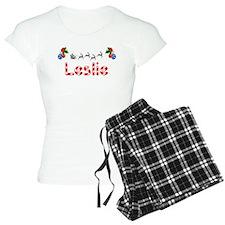Leslie, Christmas Pajamas