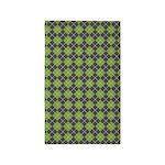 Argyle Green 3'x5' Area Rug