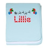 Lillie, Christmas baby blanket