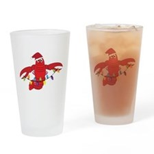 Sandy Claws Drinking Glass