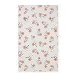Bicycles White 3'x5' Area Rug