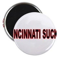 "Tigers suck 2.25"" Magnet (100 pack)"