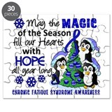 Holiday Penguins CFS Puzzle