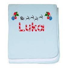 Luka, Christmas baby blanket