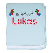 Lukas, Christmas baby blanket