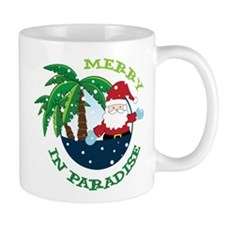 Merry In Paradise Small Mug