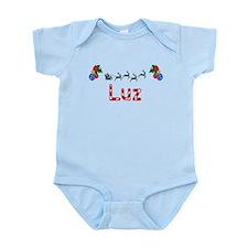 Luz, Christmas Infant Bodysuit