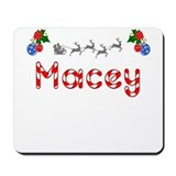 Macey, Christmas Mousepad