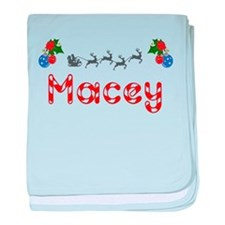 Macey, Christmas baby blanket