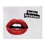 Hello Brixton Throw Blanket