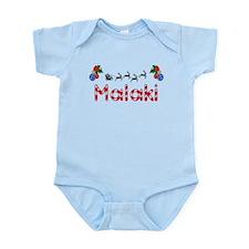 Malaki, Christmas Infant Bodysuit