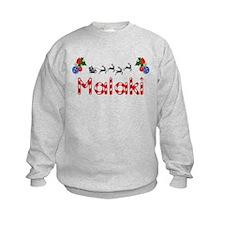 Malaki, Christmas Sweatshirt