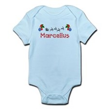 Marcellus, Christmas Infant Bodysuit
