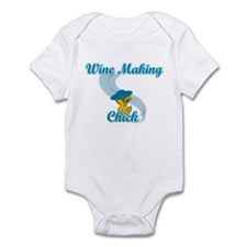 Wine Making Chick #3 Infant Bodysuit