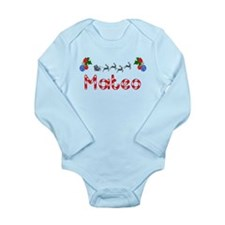Mateo, Christmas Long Sleeve Infant Bodysuit
