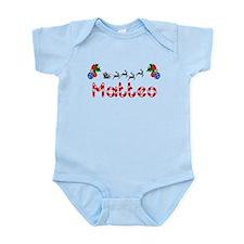 Matteo, Christmas Infant Bodysuit