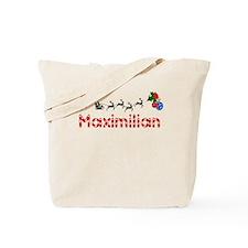 Maximilian, Christmas Tote Bag