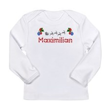 Maximilian, Christmas Long Sleeve Infant T-Shirt