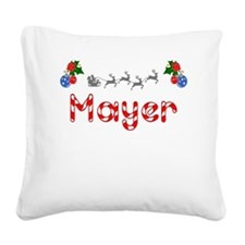 Mayer, Christmas Square Canvas Pillow