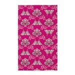 Butterfly Asian Pink 3'x5' Area Rug