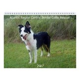 Unique Collie Wall Calendar