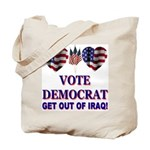 Get Out Of Iraq Tote Bag