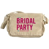I'm with the Bridal Party Messenger Bag