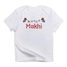 Mekhi, Christmas Infant T-Shirt