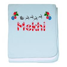 Mekhi, Christmas baby blanket