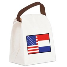 america_holland.jpg Canvas Lunch Bag