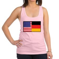 america_germany.jpg Racerback Tank Top