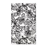 Butterfly Black/White 3'x5' Area Rug