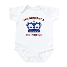 Accountant's Princess Infant Bodysuit