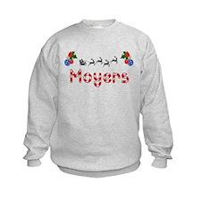 Moyers, Christmas Sweatshirt