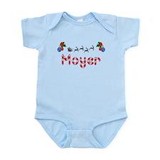 Moyer, Christmas Infant Bodysuit