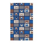 Cars Stacked Blue 3'x5' Area Rug