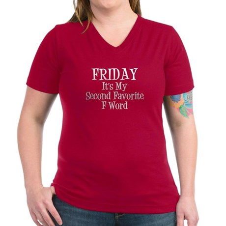 Friday is my second favorite F Word - White Text W