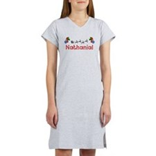 Nathanial, Christmas Women's Nightshirt